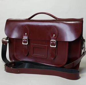 THE LEATHER SATCHEL- BRIEF CASE